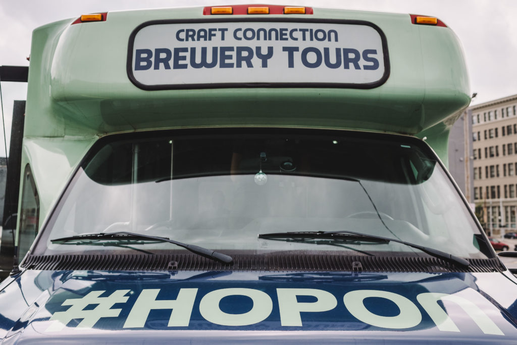 The Cincinnati Brewery Tour Bus